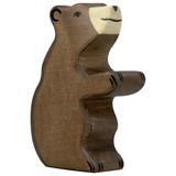 Holztiger Brown Bear Sitting (80186)
