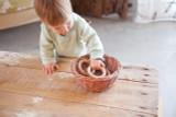 Grapat Wooden Hoops Natural 3 pcs. - 8 cm