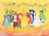 Children's Carnival/Halloween - Postcard
