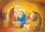 Holy Family - Postcard