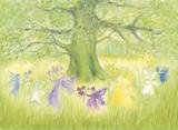 Fairydance with Spring - Postcard