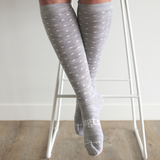 Lamington Merino Wool Socks Woman - Snowflake