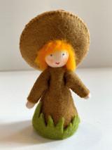 Brown Mushroom - Flower Children