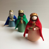 3 Kings (Nativity Set) - Flower Children