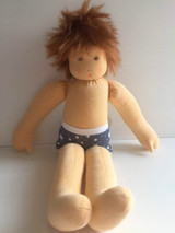 Nanchen Dressable Doll Moritz (light skin, brown hair)
