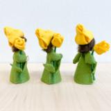 Yellow Tulip with Flower in Hand - Flower Children