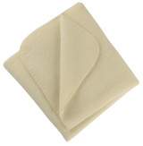 Engel Organic Merino Wool Fleece Baby Blanket
