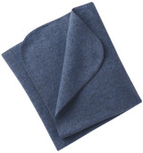 Engel Organic Merino Wool Fleece Baby Blanket - Blue