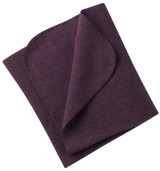 Engel Organic Merino Wool Fleece Baby Blanket - Purple