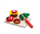Erzi Cheeseburger Cutting Set