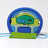 Grimm's Mobile Home Blue Green