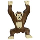Holztiger Chimpanzee Standing