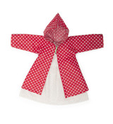 """Nanchen Outfits for 15 """" Dressable Dolls - Red and White Polka Dots Jacket and Dress"""