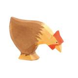 Ostheimer Hen Brown Pecking (13123)