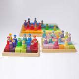 Grimm's Squares  Building Set