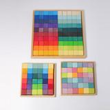 Grimm's Squares Building Set 4 x 4 (100 pc)