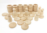 Grapat Nins, Rings and Coins - Natural (15-102C)