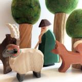 Ostheimer Nativity Figure - Shepherd with Staff