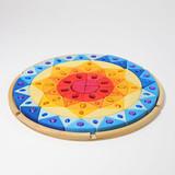 Grimm's Large Sparkling Sun Mandala Puzzle (43084)