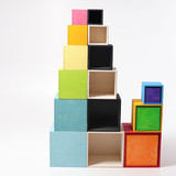 Grimm's Set of Large Boxes - Rainbow