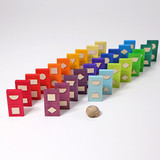 Grimm's Geometrical Domino Shapes Game (28 pc)