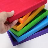 Grimm's Set of Wooden Rainbow Frames (6pcs)