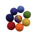 Papoose Rainbow Balls (8 pc) (PP226)
