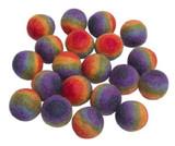 Papoose Rainbow Balls (20 pc) (PP397)