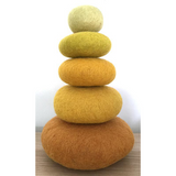 Papoose Felt Stacking Set 5 pc - Yellow (PP449)