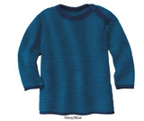 Disana Organic Merino Wool Melange Jumper (Button Neck)