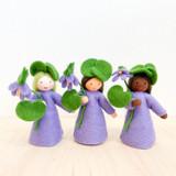 Violet with Flower in Hand - Flower Children