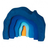 Glueckskaefer Grotto Cave - Blue