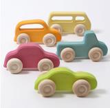 Grimm's Slimline Cars - Set of 5