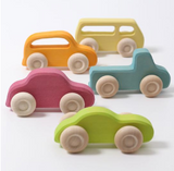 Grimm's Slimline Cars - Set of 5