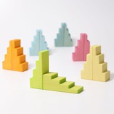 Grimm's Stepped Roofs Pastel (12 pc) (42097)