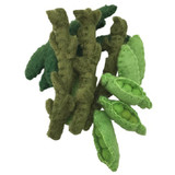 Papoose Felt Beans, Peas and Asparagus Set of 12 (Copy of PP060)