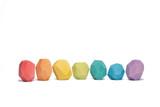 Ocamora Stones Coloured (7 pc) (Q0701)