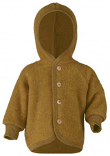 Engel Wool Fleece Hooded Jacket