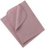 Engel Organic Merino Wool Fleece Baby Blanket - Rosewood