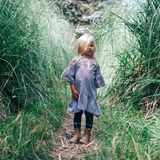 Lamington Merino Wool Tights Textured Knit - Deep Forest