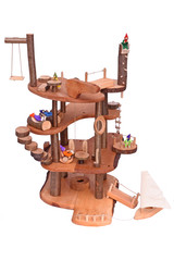 Magic Wood Tree House In Parts