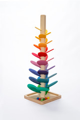 Rainbow Marble Sound Tree