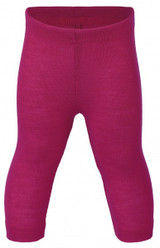 Engel Baby Leggings Organic Merino Wool/Silk - Raspberry (up to 3T)