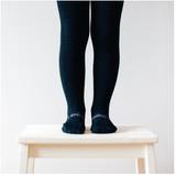 black knit tights