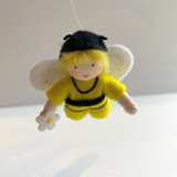 Hanging Honey Bee Baby - Flower Children