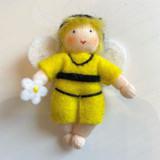 Hanging Honey Bee Baby - Flower Children
