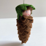 Hanging Pine Cone - Flower Children