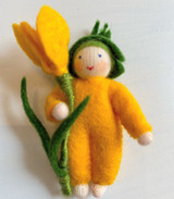 Yellow Crocus Baby- Flower Children