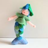 Blue Mermaid - Flower Children