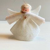 Hanging Large Angel with Star Dress - Flower Children